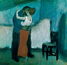 Rendezvous 1900 Pablo Picasso (1881-1973/Spanish). Pushkin Museum of Fine Arts, Moscow