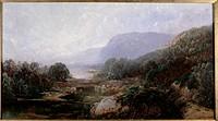 View to The Sea 1880 William Louis Sonntag (1822-1900/American). Oil on Canvas David David Gallery, Philadelphia