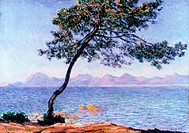Cap d Antibes by Claude Monet