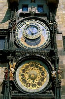 Astronomical Clock Old Town HallPragueCzech Republic