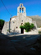 Church at Areopolis. Mani Peninsula. Laconia, Peloponnese. Greece