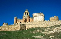 Castle (15th-16th century) of Turégano. Segovia province. Spain