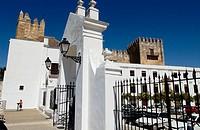 Castle, Plaza del Cabildo. Arcos de la Frontera. Cádiz province. Spain