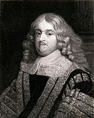Edward Hyde, 1st Earl of Clarendon, Viscount Cornbury, Sir Edward Hyde and Baron Hyde of Hindon, 1609-1674. English statesman, historian. From the boo...