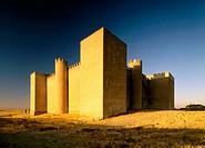 Montealegre Castle. Valladolid province. Spain