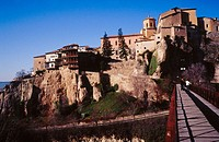 Views of the old town. Cuenca. Castilla la Mancha. Spain