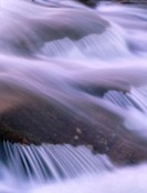 Rapids in close-up at Pite River. Bredsel. Norrbotten. Sweden