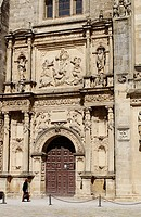 Facade of Iglesia del Salvador. Úbeda. Jaén province. Andalusia. Spain