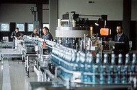 Bottling Grappa at Nardini´s in Bassano del Grappa, Vicenza
