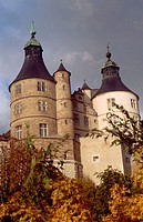 Montbeliard Castle in Doubs. France