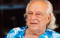 Rafael Alberti, Spanish poet (1902-1999). Photographed in 1984