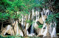 Kuang Si waterfall. Luang Prabang. Laos