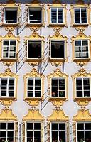 Baroque building. Salzburg. Austria