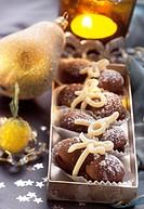 Baci d´amore (Chocolate macaroons)