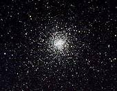 ´Optical image of the globular star cluster M4 (NGC 6121) which is situated about 6000 light years from Earth in the constellation of Scorpius. M4 is ...