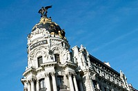 Metropolis building. Madrid. Spain