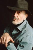 Harold Brodkey, American writer. 1992