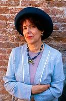 Assia Djebar, Algerian writer. 1999