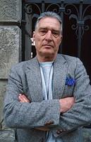 Emilio Tadini, Italian painter and poet, 1996
