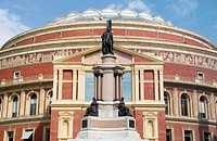 Royal Albert Hall. Kensington, London. England