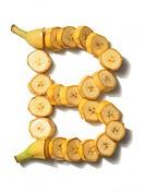 banana letter B