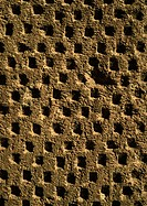 Lattice work surface, close-up