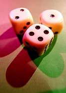 Dice, close-up