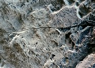 Rock, textured surface