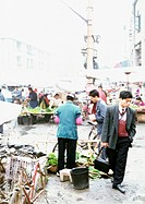 China, Guangxin Autonomous Region, Laibin, open-air market