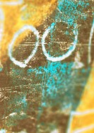 '00' text, close-up
