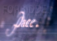 ´Pace´ typography, purples, blurry, montage
