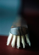 Hairbrush, close-up