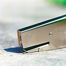 Stapler, close-up