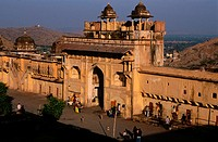 Amber Fort, main entrance. Jaipur. India