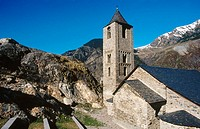 Sant Joan de Boí church. Boí Valley, Pyrenees Mountains. Lleida province. Spain