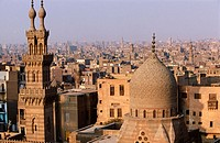 The muslim quarter in Old Cairo. Egypt