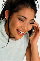 Girl talking on phone