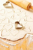Heart shaped pastry cutters (thumbnail)