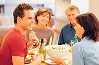Couples Eating Dinner