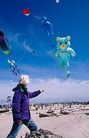 Kite festival in Florence. Oregon Coast, USA