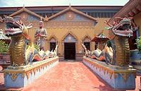 Wat Chayamangalaram Temple, Pulau Tikus, Penang, Malaysia
