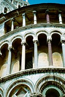 Detail of duomo. Pisa. Tuscany, Italy