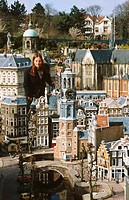 Madurodam. City in miniature. Holland