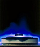 Demonstration of magnetic levitation of one of the new high-temperature superconductors -yttrium- barium- copper oxide (Y-Ba2-Cu3-O7-x). Discovered in...