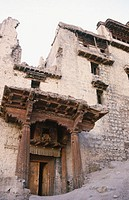 Ruins of the Royal Palace. Leh, Ladakh. India
