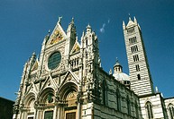 Duomo cathedral. Siena. Tuscany. Italy