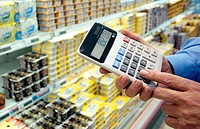 Hypermarket, calculating prices