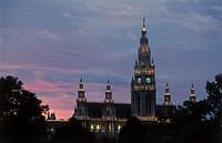 Austria, Vienna, town hall