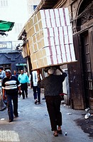 Egypt, Cairo, alley, man,