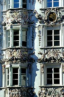 Austria, Tyrol, Innsbruck, old part of town